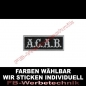 Preview: A.C.A.B. Aufnäher ACAB Patches 8cm x 3cm