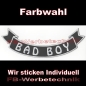 Preview: BAD BOY Bottom Rocker 29cm Aufnäher Patches S03