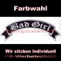 Preview: Bad Girl Top Rocker 29cm Patches Aufnäher S02