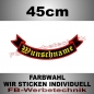 Preview: Bottom Rocker 45 cm Flagge Patch S02