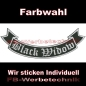 Preview: Black Widow Bottom Rocker 29cm Patches S02