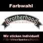 Preview: Brotherhood Top Rocker 29cm Patches Aufnäher S03