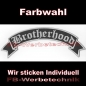 Mobile Preview: Brotherhood Top Rocker 29cm Patch Aufnäher S02