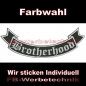 Preview: Brotherhood Bottom Rocker 29cm Patches S02