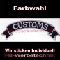 Preview: CUSTOMS Top Rocker 29cm Patches Aufnäher S03