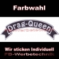 Mobile Preview: Drag Queen Top Rocker 29cm Patches Aufnäher S03