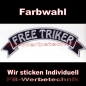 Preview: FREE TRIKER Top Rocker 29cm Patches Aufnäher S03