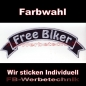 Preview: Free Biker Top Rocker Patches 29cm Aufnäher S03