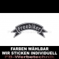 Preview: Freebiker Patch Flagge OBEN 12cm Aufnäher S03