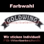 Mobile Preview: GOLDWING Top Rocker 29cm Patches Aufnäher S03