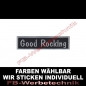 Mobile Preview: Good Rocking Aufnäher Patches 10cm x 2,5cm