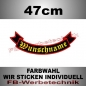 Preview: Bottom Rocker 47 cm Flagge Patch S02