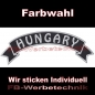 Preview: HUNGARY Top Rocker 29cm Patches Aufnäher S03