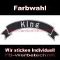 Preview: King Top Rocker 29cm Patches Aufnäher S03