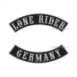 Preview: LONE RIDER GERMANY Bogen Patch SET 29cm S04
