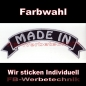 Preview: MADE IN Top Rocker 29cm Patches Aufnäher S03