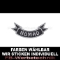 Preview: NOMAD Patch Flagge UNTEN 12cm Aufnäher S03