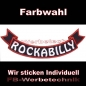 Mobile Preview: ROCKABILLY Bottom Rocker 29cm Aufnäher Patches S03