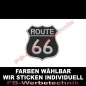 Preview: ROUTE 66 Aufnäher Patches 8x7,5cm Wappen