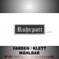 Preview: Ruhrpott Patches Aufnäher Biker Patch 9x3 S2