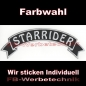 Preview: STARRIDER Top Rocker 29cm Patches Aufnäher S03