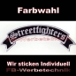 Preview: Streetfighters Top Rocker 29cm Patches Aufnäher S02