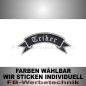 Preview: Triker Patch Flagge OBEN 12cm Aufnäher S02