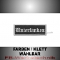 Preview: Unterfranken Patches Aufnäher Biker Patch 9x3 S2