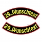 Preview: Wunschtext Bögen SET 29 cm Patches S03