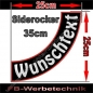 Preview: Side Rocker 35cm Aufnäher Patch S03