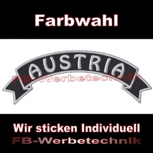 AUSTRIA Top Rocker 29cm Patch Aufnäher S03
