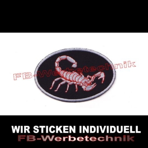 SCORPION Patches Aufnäher