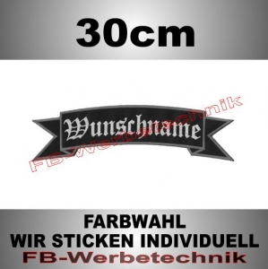 TOP ROCKER 30cm Flagge Patch S02