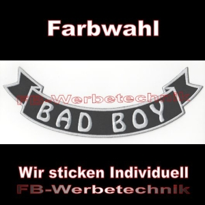 BAD BOY Bottom Rocker 29cm Aufnäher Patches S03