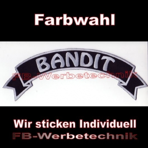 BANDIT Top Rocker 29cm Patches Aufnäher S03
