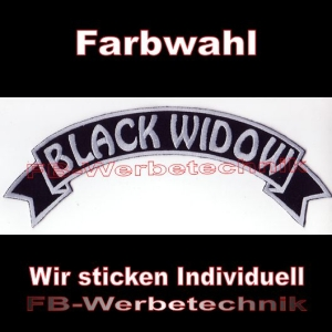 BLACK WIDOW Top Rocker 29cm Patches S03