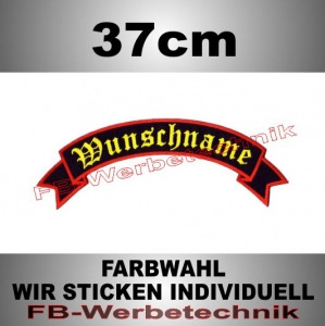 TOP ROCKER 37cm Flagge Patch S02