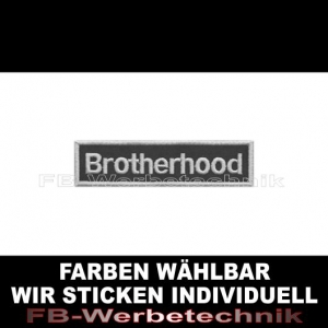 Brotherhood Aufnäher Patches 10cm x 2,5cm