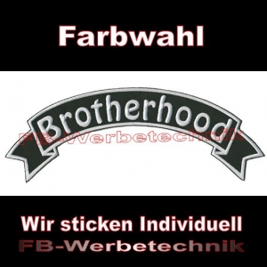 Brotherhood Top Rocker 29cm Patches Aufnäher S03