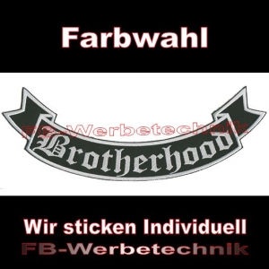 Brotherhood Bottom Rocker 29cm Patches S02