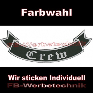 Crew Bottom Rocker 29cm Aufnäher Patches S02