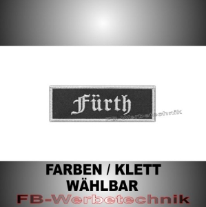 Fürth Patches Aufnäher Biker Patch 9x3 S2