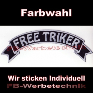 FREE TRIKER Top Rocker 29cm Patches Aufnäher S03