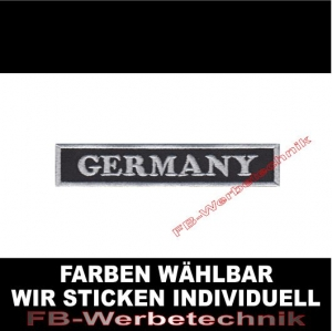 Germany Patch Aufnäher 10,5cm x 2cm
