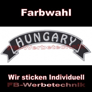 HUNGARY Top Rocker 29cm Patches Aufnäher S03