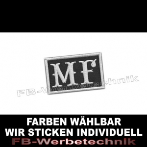 MF Patch Biker Patches 6x4 S04