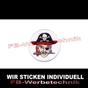 Pirat Pirates Patches Aufnäher