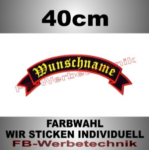 TOP ROCKER 40cm Flagge Patch S02