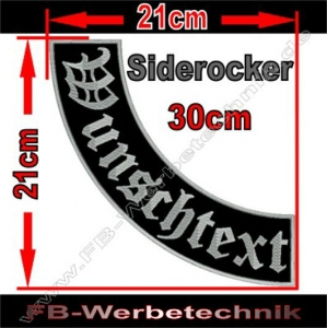 Side Rocker 30cm Aufnäher Patch S02