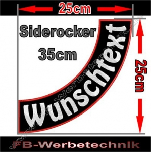 Side Rocker 35cm Aufnäher Patch S03